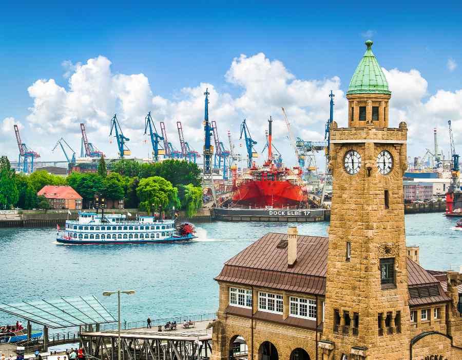 Hamburg Hamzestad busreis ter Beek Reizen