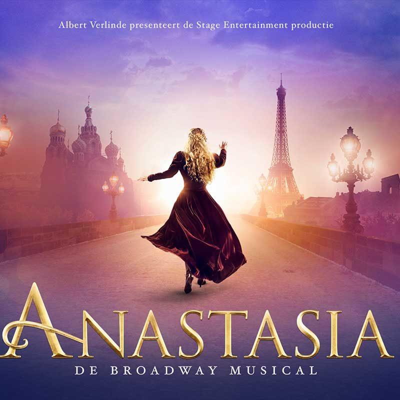 Met ter Beek Reizen naar de musical Anastasia