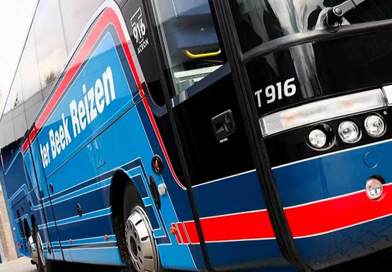 De T916 bus van ter Beek Reizen
