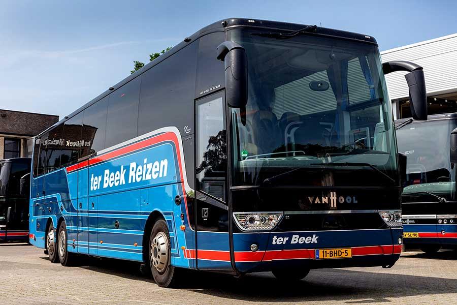 Bussen van 30 - 50 personen van ter Beek Reizen