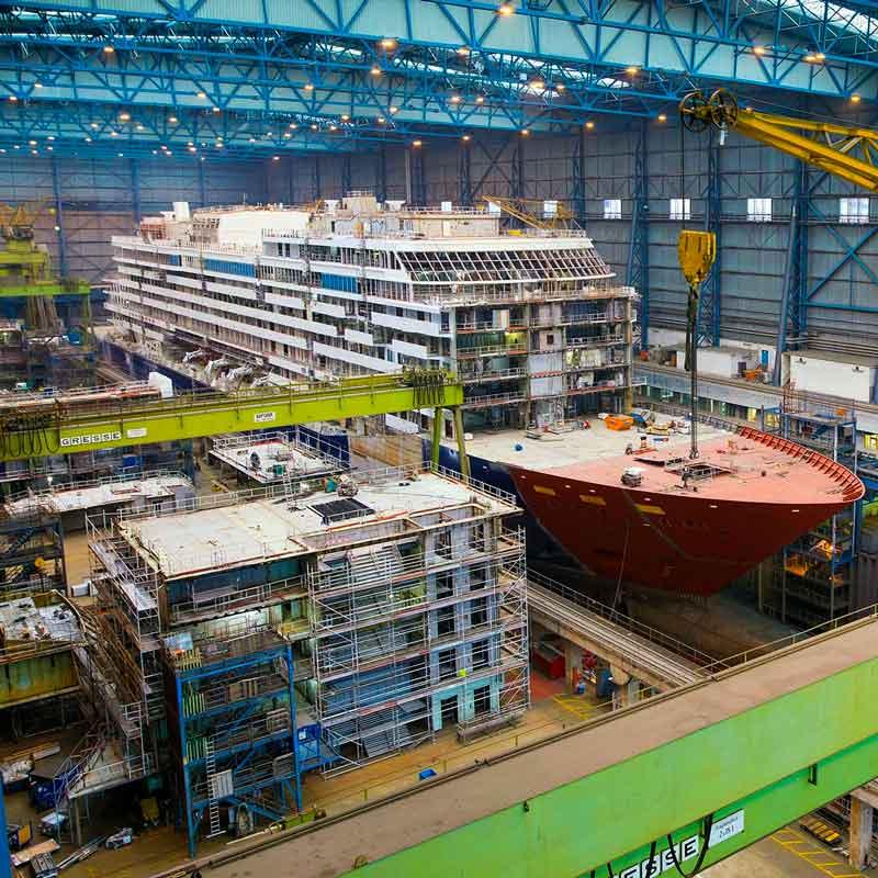 Dagtocht Meyer Werft met ter Beek Reizen