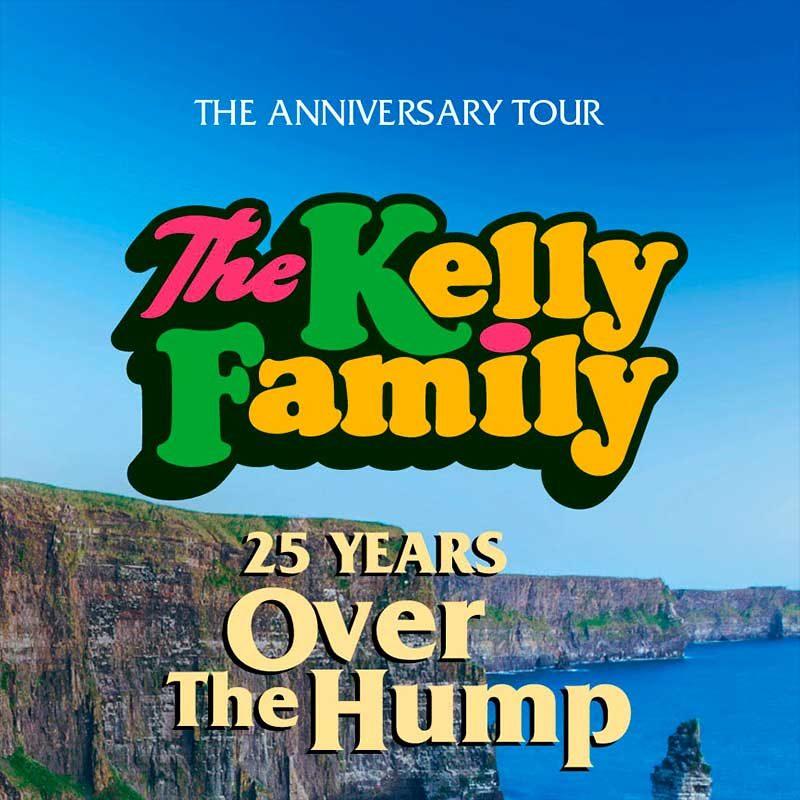 The Kelly Family 25 years over the Hump met per luxe touringcar met ter Beek Reizen