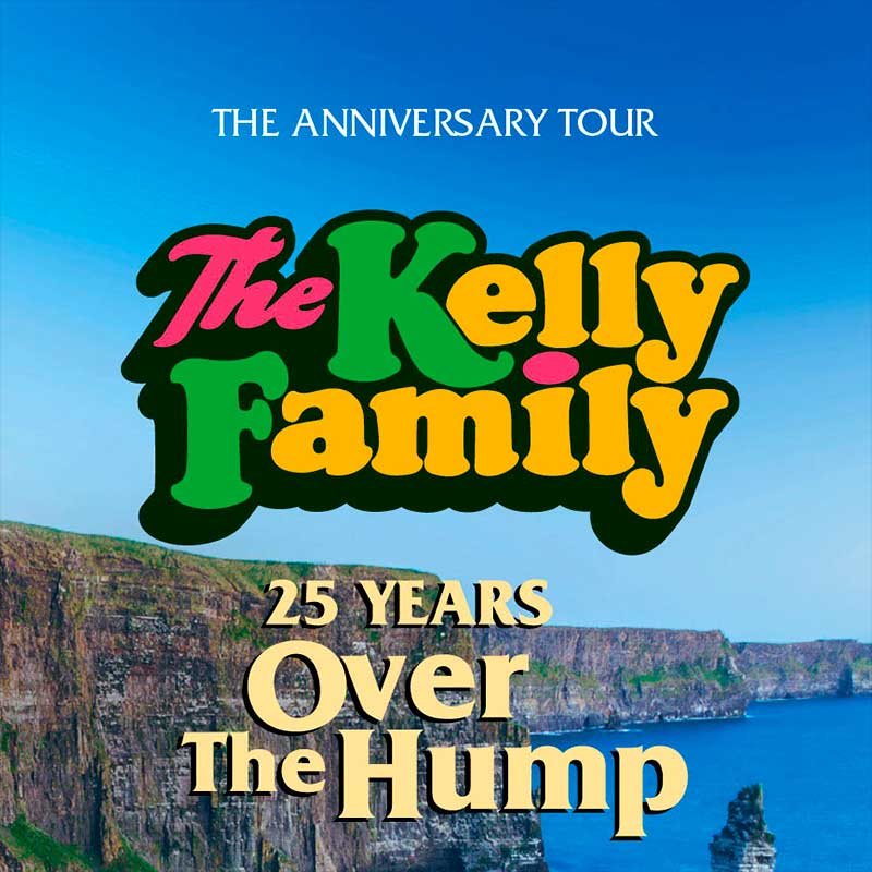 The Kelly Family 25 years over the Hump met per luxe touringcar met ter Beek Reizen